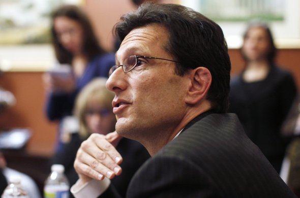 House Minority Leader Eric Cantor